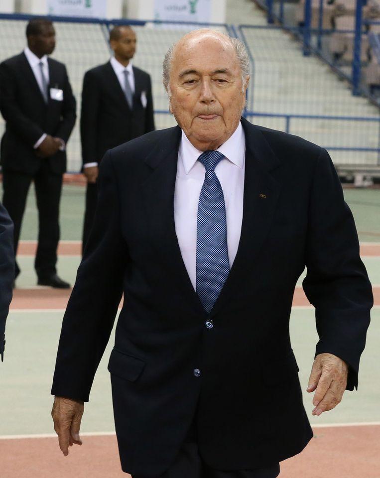 Joseph Blatter Beeld afp