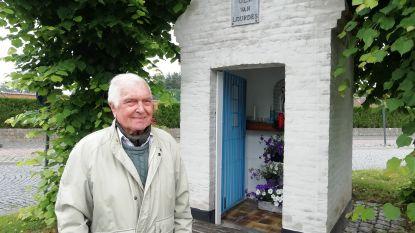 Felix (90) waakt al 53 jaar als een goede huisvader over het kapelletje van Onze-Lieve-Vrouw