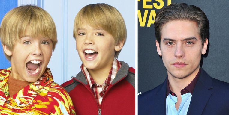 Dylan Sprouse toen en nu.