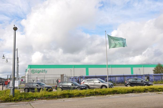 De fabriek van Signify in Turnhout in België.