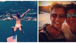 SHOWBITS. Natalia springt het weekend in, James Cooke en Gert Verhulst zijn samen op vakantie