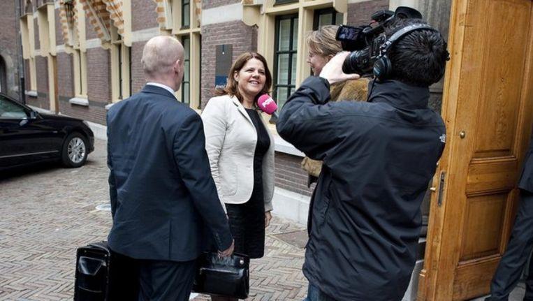 Minister Marja van Bijsterveldt (Onderwijs, Cultuur en Wetenschap) Beeld anp