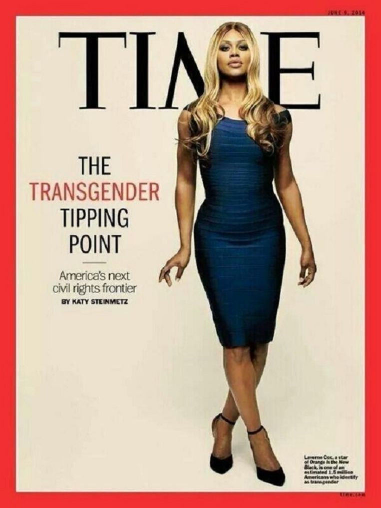 Cover van Time Magazine. Beeld The Guardian