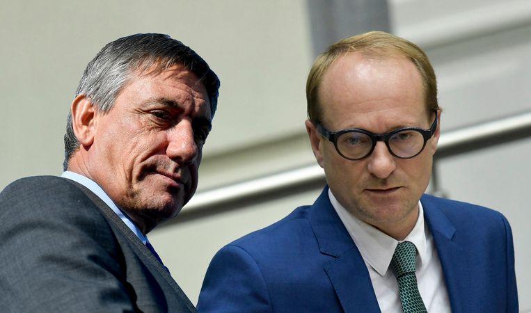 Jan Jambon en Ben Weyts.