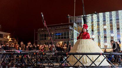 Eerste 'Nacht van de Engelen' betovert Theaterplein