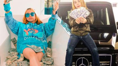 Piepjonge rapster die zich voordeed als 'rijkste kind van de eeuw' duikt na maanden weer op en doet haar hallucinante verhaal