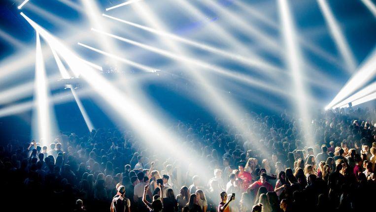 Amsterdam Dance Event was vorig jaar het best bezochte festival van Nederland. Beeld anp
