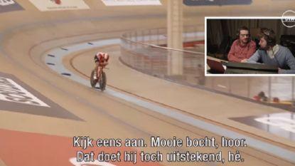 """De Ideale Wereld becommentarieert recordpoging van Campenaerts: """"Hij heeft duidelijk het parcours verkend"""""""