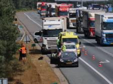 File na ongeval op A12 bij Arnhem