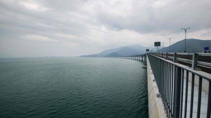 Langste zeebrug ter wereld gaat volgende week open