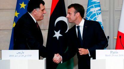 """Frankrijk en Libië """"versterken samenwerking om migratiestromen beter te beheersen"""""""