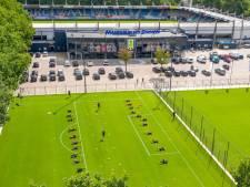 Coronaregels verpesten Waalwijks voetbalplezier niet