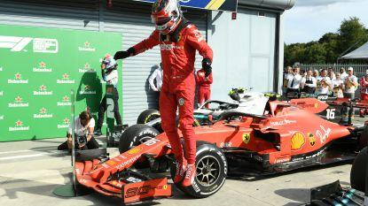 Weer spektakel in Formule 1: Leclerc pakt tweede zege op rij na titanenduel met Mercedes-rivalen