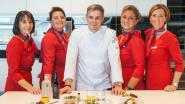 """Sterrenchef Tim Boury legt klanten Brussels Airlines culinair in de watten: """"Aan land of in de lucht... de smaak moet dezelfde zijn"""""""