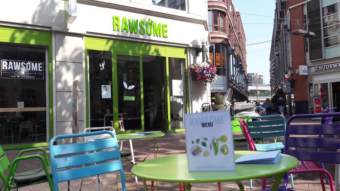 Rawsome aan het Brouwersplein.