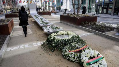 """Herdenkingsceremonie slachtoffers terrorisme Brussel: """"We weten niet of we ooit nog een keer zullen lachen"""""""
