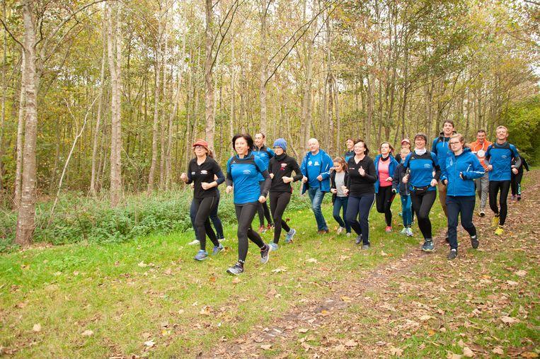 De organisatoren van de Baliekouter Run for Fun testen het parcours al eens uit.
