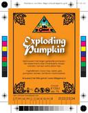 7% Exploding pumpkin - Het 58e Genot - Zundert BLB2020
