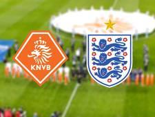 Ronald Koeman debuteert als bondscoach tegen Engeland