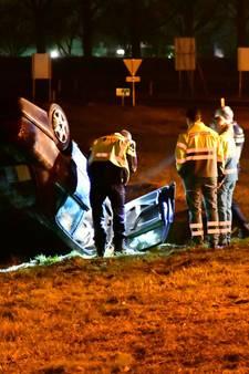 Bestuurder spoorloos na crash op A12 bij Didam