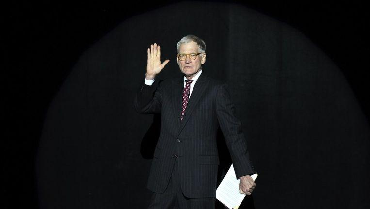 David Letterman Beeld reuters