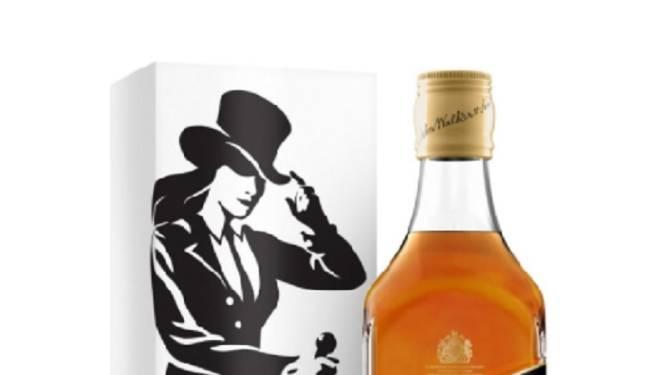Aan de kant, Johnny! Hier is whiskymadam 'Jane Walker'