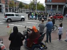 Bestuurder van scooter gewond na aanrijding