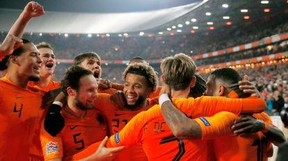 Oranje klopt Franse wereldkampioen en mag dromen van Final Four in Nations League