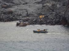 Duikers op zoek naar laatste twee lichamen bij vulkaan Nieuw-Zeeland