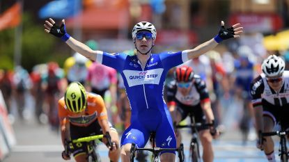 De kop is eraf: Viviani pakt in ingekorte etappe de eerste seizoenszege voor Quick-Step