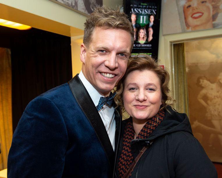 """""""Normaal zou Thuis-actrice An Vanderstighelen de beklaagde spelen, maar door haar zwangerschap neemt Heidi De Grauwe die rol over"""", vertelt Uitgezonderd-producent James Cooke."""