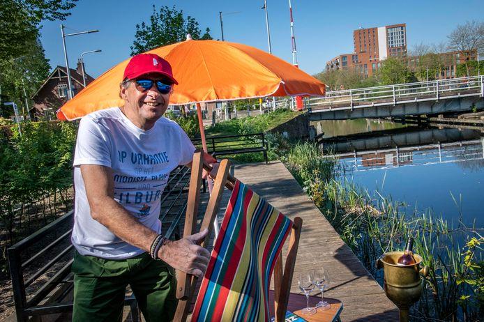 """Michel Deneef: ,,Het gaat er niet om dat de mensen naar mij komen, maar dat we samen als Tilburgse ondernemers iets maken van de vakantie in eigen stad."""""""