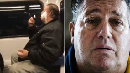Anthony wordt belachelijk gemaakt omdat hij zijn baard scheert op de trein. Zijn eerlijke reactie doet de beledigingen stoppen