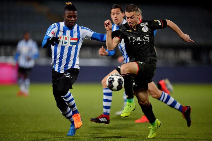 Augustine Loof, hier nog in dienst voor FC Eindhoven, speelde zich donderdag in de boeken.