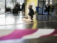 Slachtoffer steekpartij campus maakt het goed, oog niet beschadigd