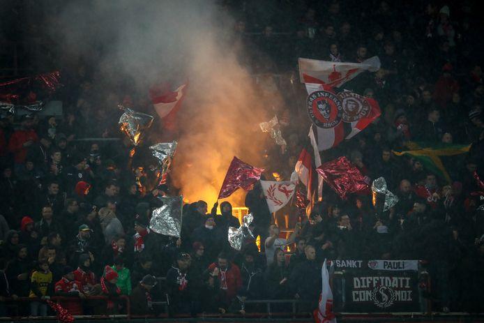 Standard Luik-supporters.