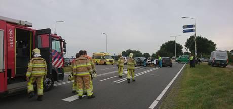 Frontale botsing op kruising bij Steenwijk