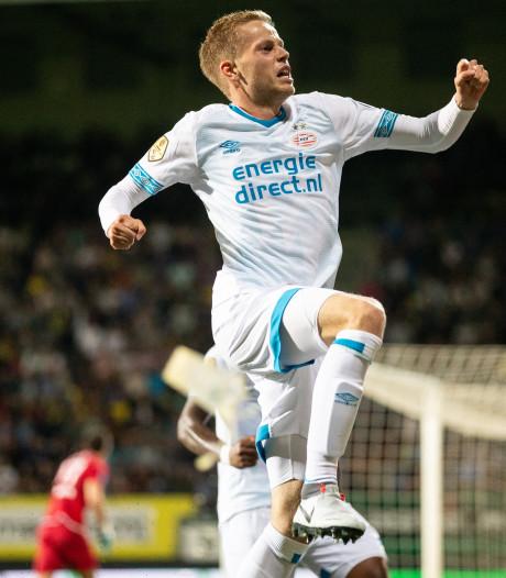 PSV verhuurt Dante Rigo voor een seizoen aan Sparta