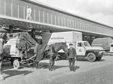 Wie bezorgde in 1956 met paard en wagen voor Van Gend en Loos?