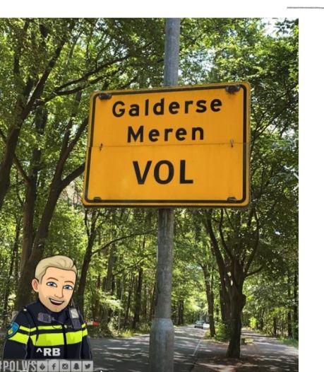 Wegen naar Galderse Meren in Breda afgesloten wegens drukte