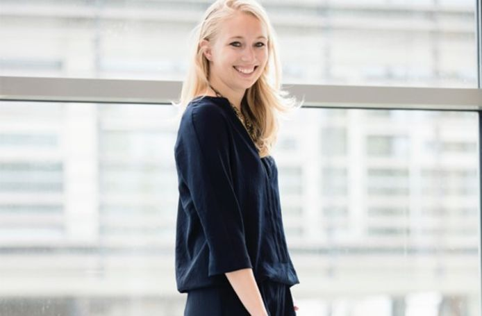Nikky Hofland van het TechMeUp-fonds.