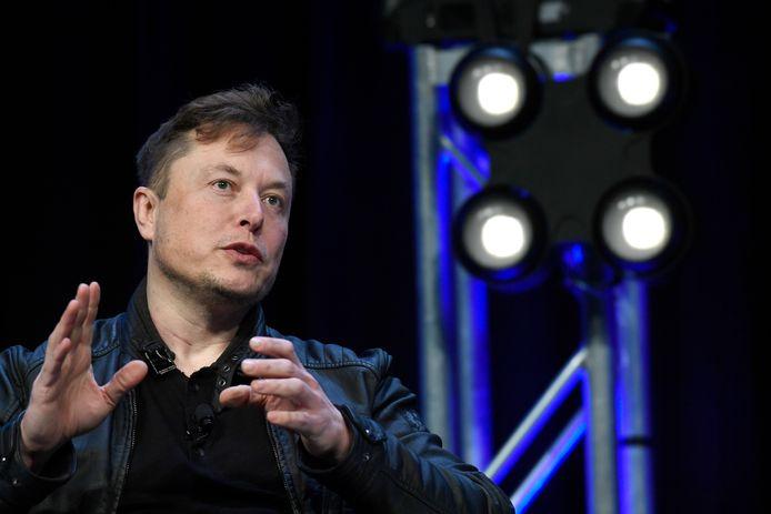 Tesla-topman Elon Musk (archiefbeeld)