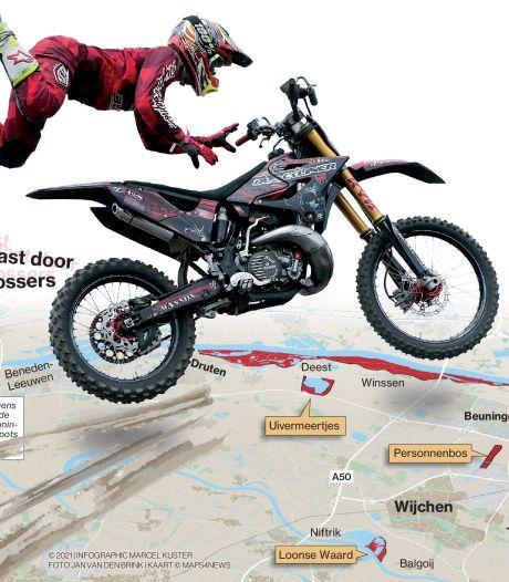 Motorcrossers zijn niet te pakken, schade aan de natuur is groot: 'Iedereen kijkt ernaar maar er gebeurt niets'