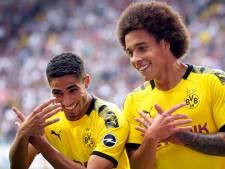 Axel Witsel marque sur un assist de Thorgan Hazard mais Dortmund partage