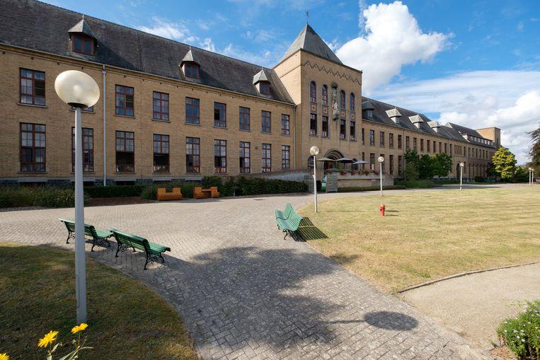 Het imposante seminariegebouw Borgerstein.