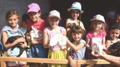 Week genieten op kinderboerderij