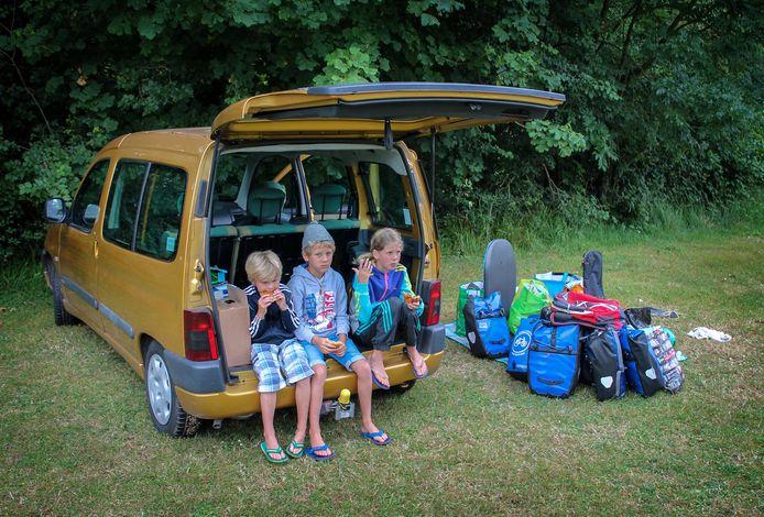 De kinderen én vakantiespullen van Flip van Doorn.