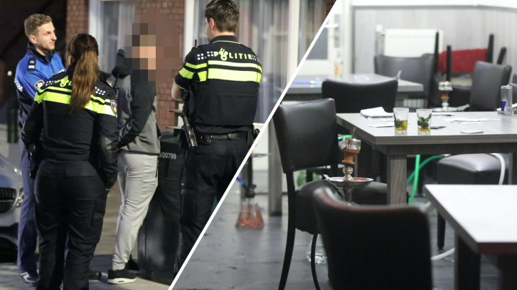 Politie grijpt in bij Haags café dat toch open is