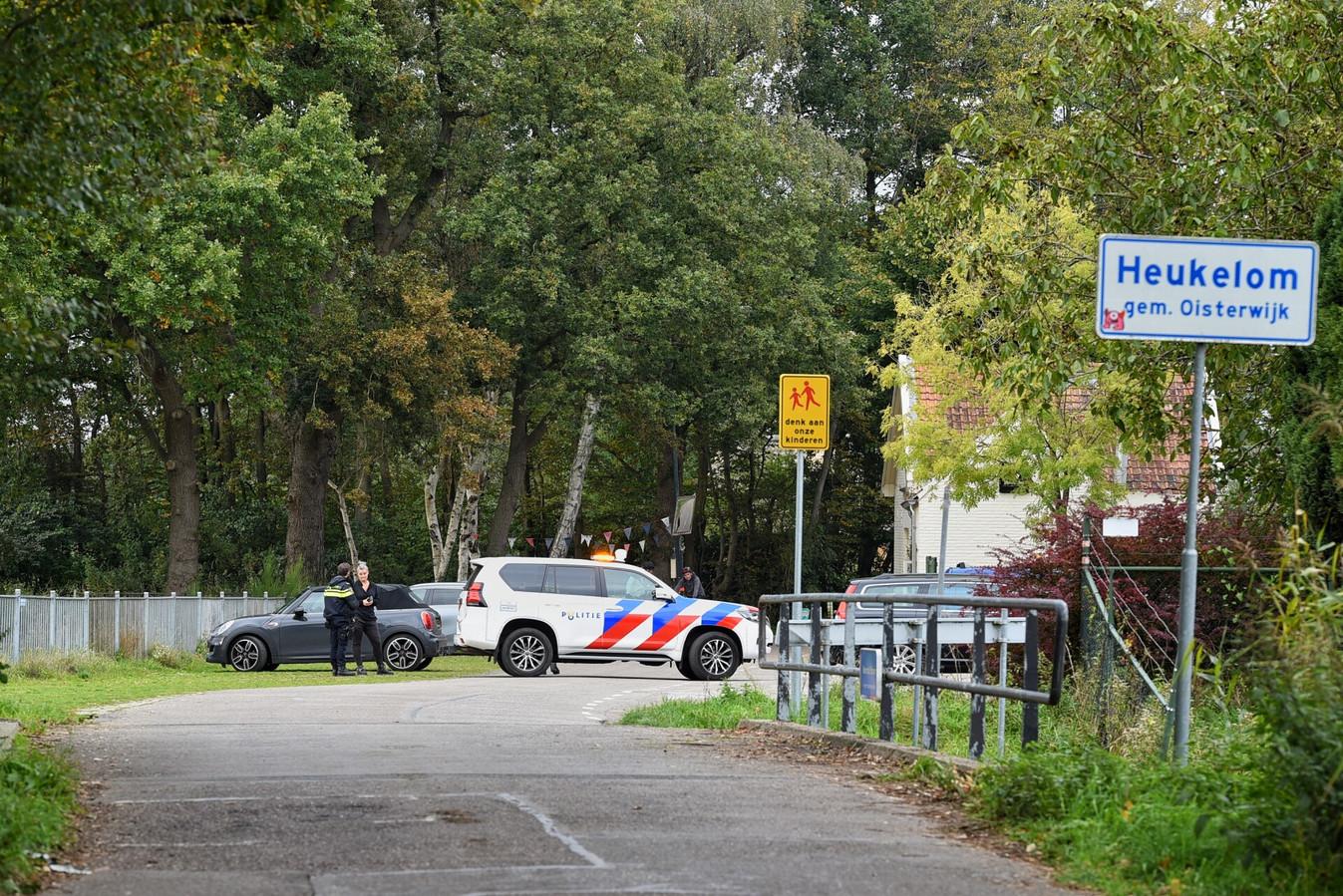 Kogels en explosief opgevist in Heukelom.