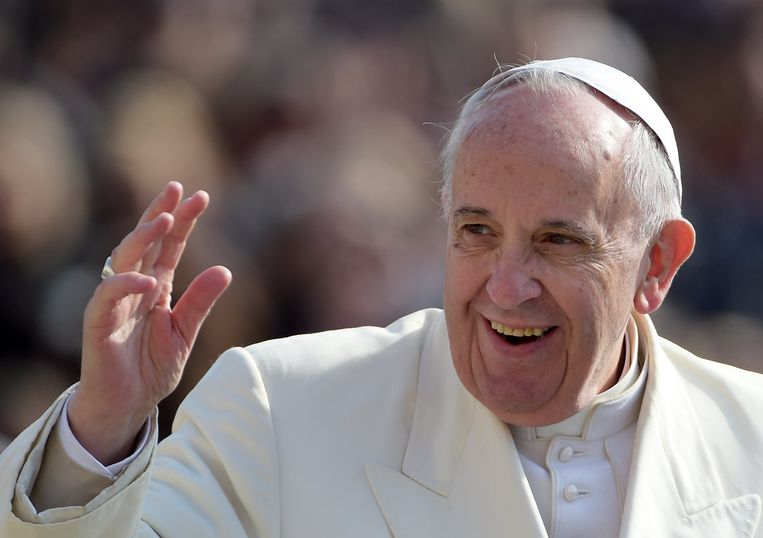 Archiefbeeld, Paus Franciscus.